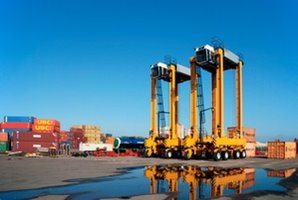 Kalmar electric straddle carriers